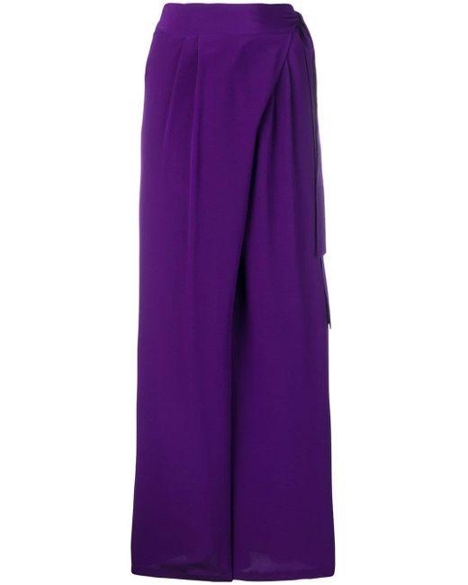 Aspesi ワイドパンツ Purple
