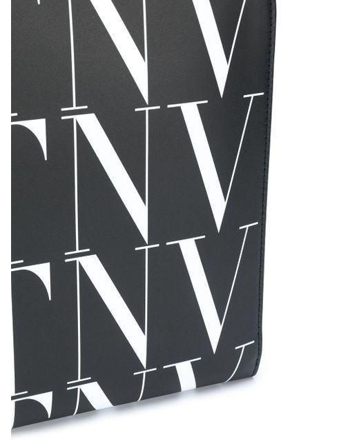 メンズ Valentino Garavani ロゴ バッグ Black