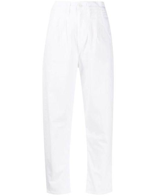 Levi's ハイウエストパンツ White