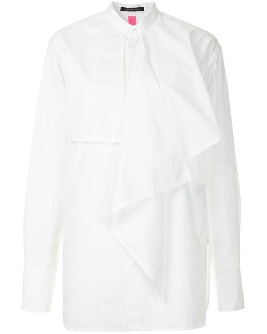 Y's Yohji Yamamoto レイヤード シャツ White