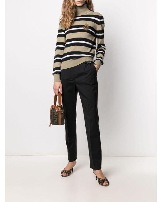 Dolce & Gabbana ロゴパッチ セーター Multicolor