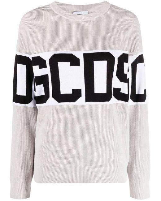 Sweat à logo imprimé Gcds en coloris Gray