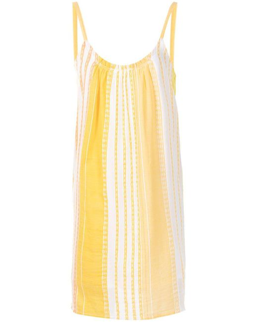 Lemlem ストライプ キャミソール ドレス Orange
