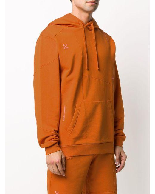 Деконструированное Худи Из Коллаборации С Dc Retrosuperfuture, цвет: Orange