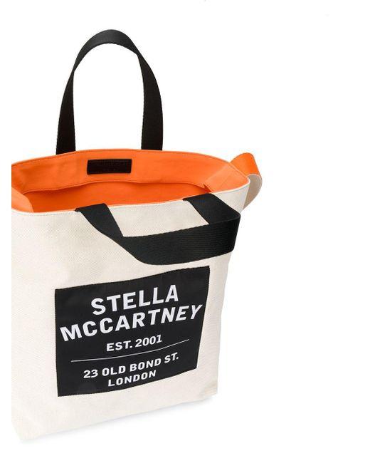 Stella McCartney ロゴパッチ ハンドバッグ Multicolor