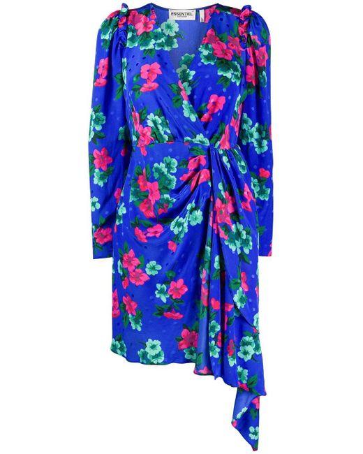 Essentiel Antwerp Viesbeth ドレス Blue