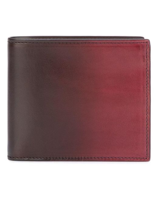 Officine Creative - Red Boudin Bi-fold Wallet for Men - Lyst