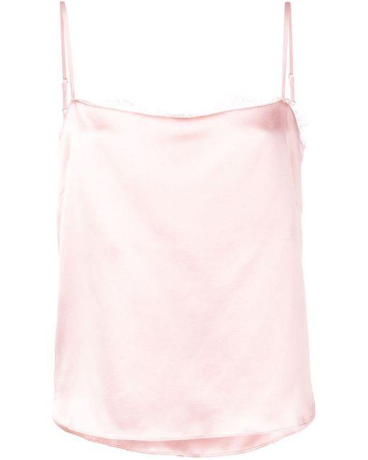 Fleur du Mal レース キャミソール Pink