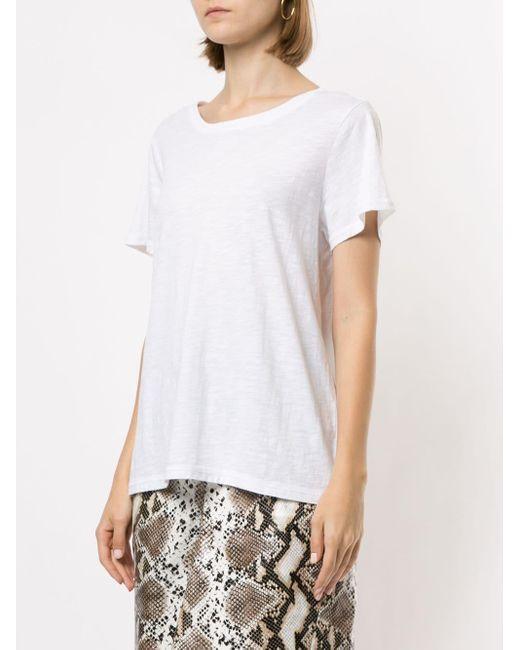 PAIGE White 'Ellison' T-Shirt