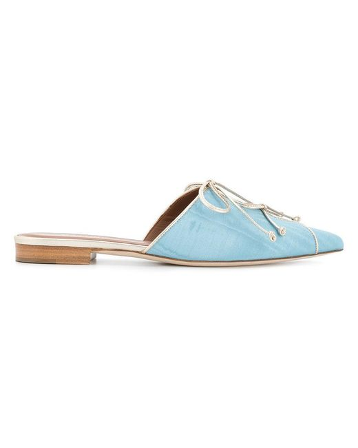 Malone Souliers - Blue Chic Design Mules - Lyst