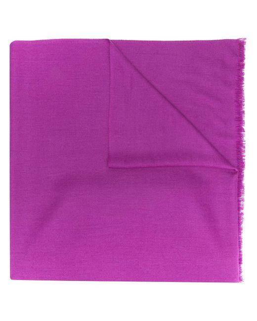 N.Peal Cashmere パシュミナ ショール Purple