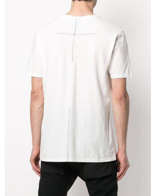 メンズ Thom Krom ラウンドネック Tシャツ White