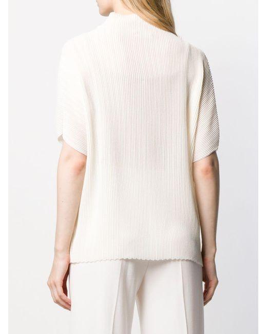 The Row リブ Tシャツ White