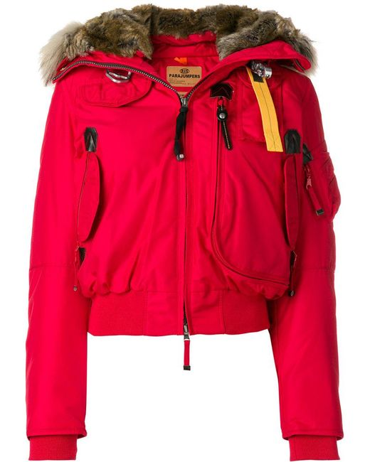 parajumpers red jacket