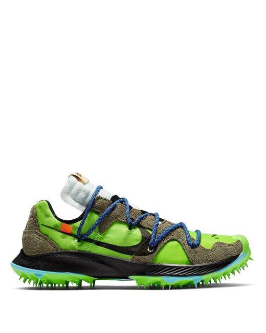 Nike X Off-white Zoom Terra Kiger 5 スニーカー Green
