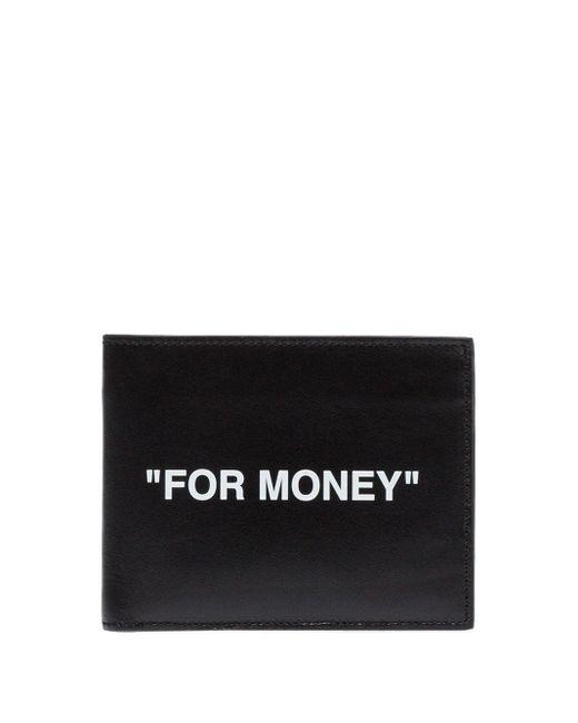 Off-White c/o Virgil Abloh 二つ折り財布 Black