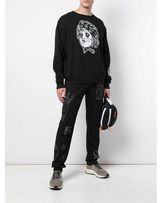 メンズ Haculla Cry スウェットシャツ Black