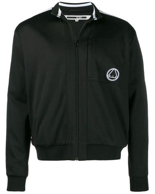 メンズ McQ Alexander McQueen ロゴ スウェットシャツ Black
