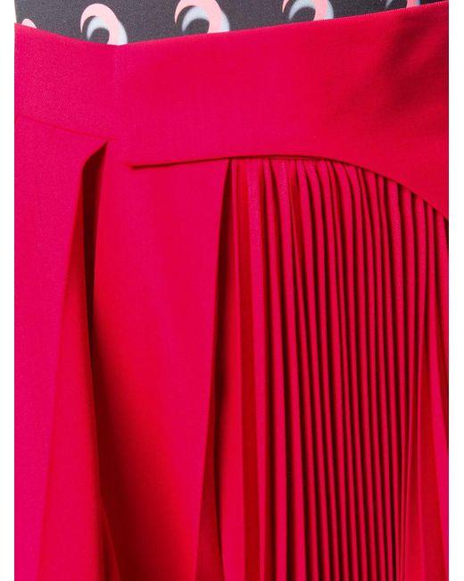 Ambush プリーツスカート Red