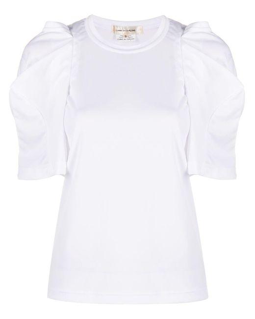 Comme des Garçons レイヤード Tシャツ White