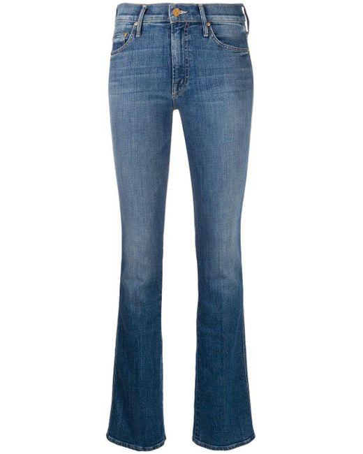 Jeans svasati The Runaway di Mother in Blue