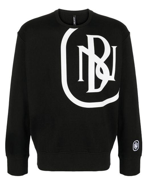 Neil Barrett Sweatshirt mit Logo-Print in Black für Herren