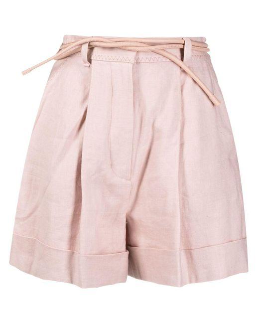 Shorts Luminous di Zimmermann in Pink