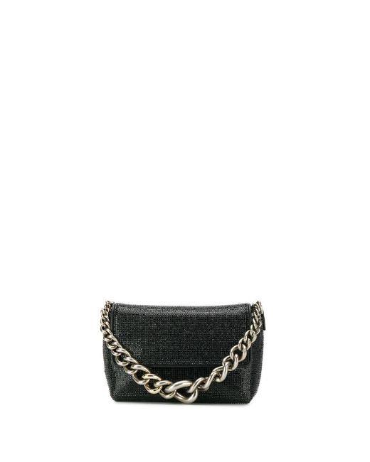 modélisation durable Achat modèles à la mode Mini sac à main à anse en chaîne femme de coloris noir