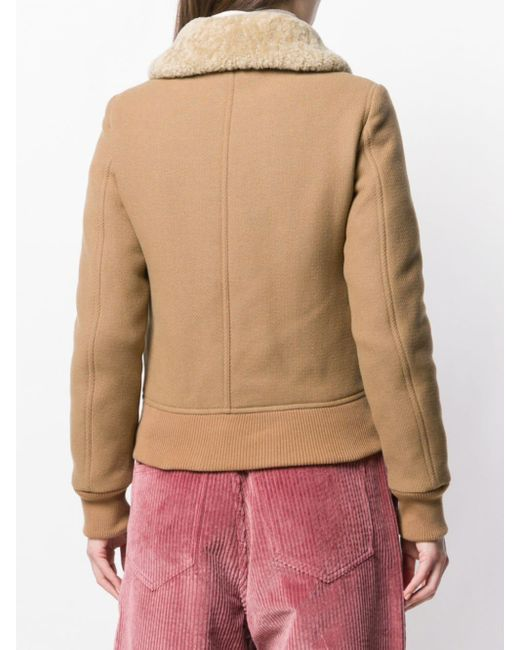 AMI ムートンカラー ジャケット Multicolor
