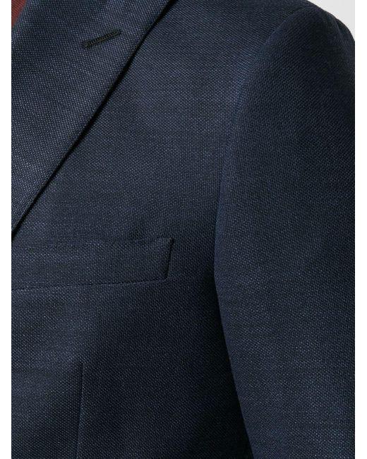 Блейзер Кроя Слим Tonello для него, цвет: Blue