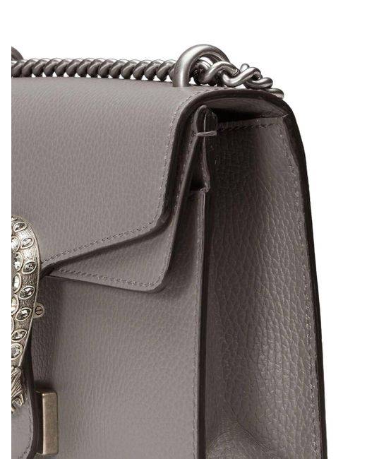 Dionysus Plaque Mini Bag Gucci, цвет: Gray