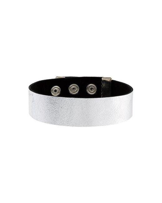 Manokhi - Metallic Buttoned Choker - Lyst