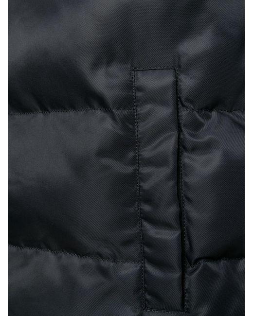 メンズ 1017 ALYX 9SM キルティング フーデッドジレ Black