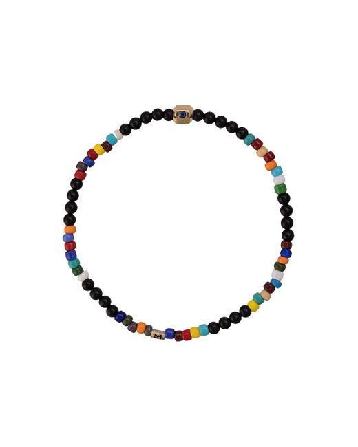 Luis Morais ヘキサゴンビーズ ブレスレット Multicolor