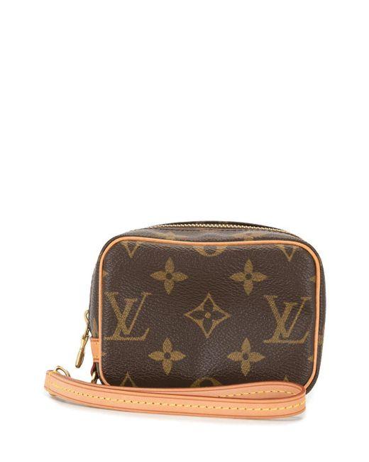 Louis Vuitton 2005 プレオウンド トゥルース ワピティ ポーチ Brown