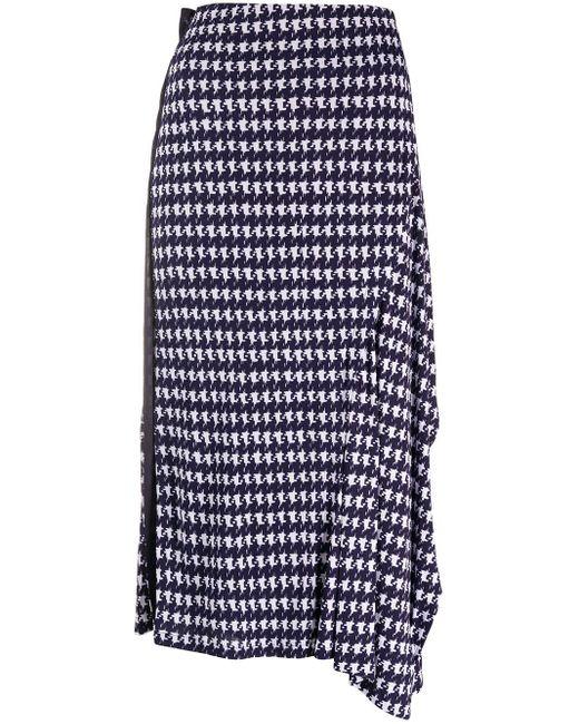 Victoria Beckham プリント スカート Blue