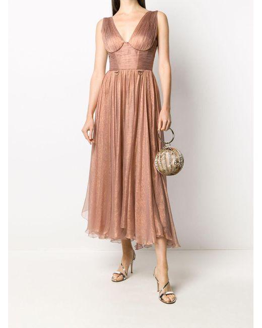 Maria Lucia Hohan コルセットディテール ドレス Pink