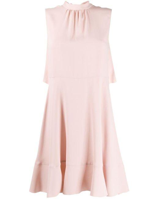 RED Valentino ケープドレス Pink