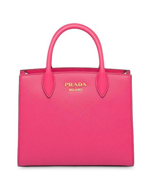 Prada ダブル ハンドバッグ Pink