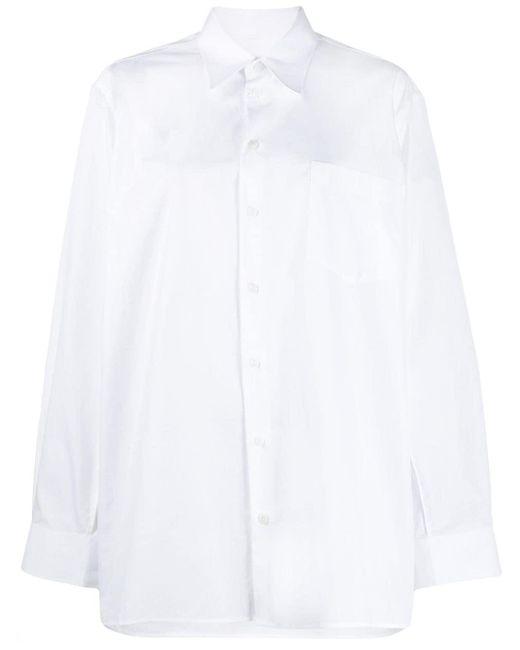 Maison Margiela White Oversized-Hemd