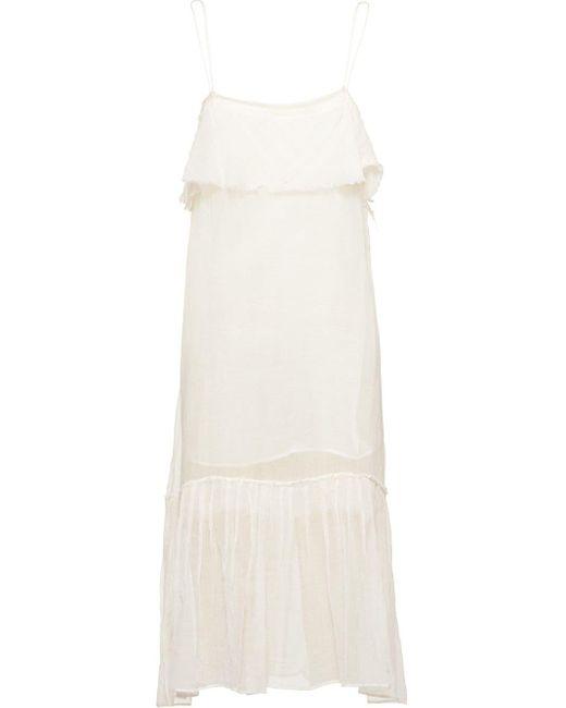 Miu Miu スリップドレス White