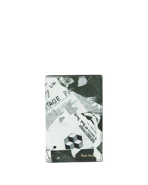 Бумажник С Принтом Paul Smith для него, цвет: Gray