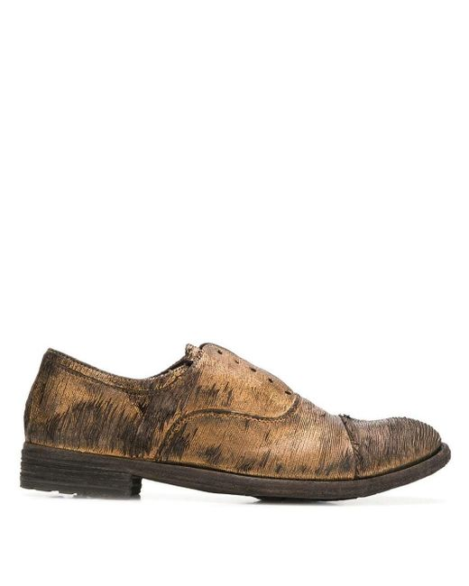 Officine Creative Brown 'Lexikon 17' Derby-Schuhe