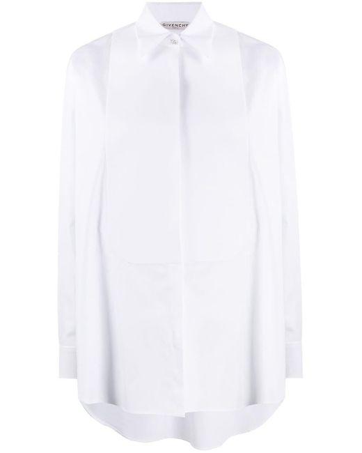 Givenchy ロングスリーブ ボタンシャツ White