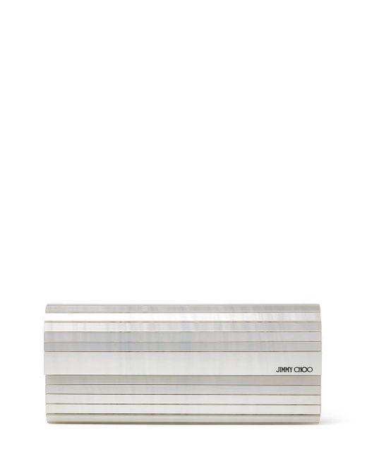 Pochette Sweetie Jimmy Choo en coloris White