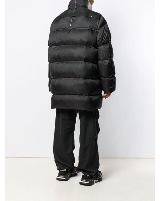 Doudoune bicolore Rick Owens pour homme en coloris Black