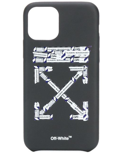 Off-White c/o Virgil Abloh Airport Arrows Iphone 11 Pro ケース Black