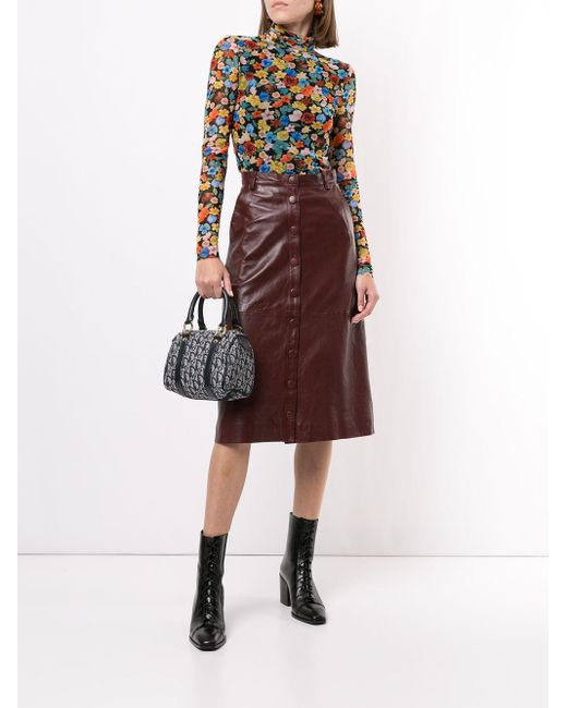 Dior プレオウンド トロッター ハンドバッグ ミニ Multicolor