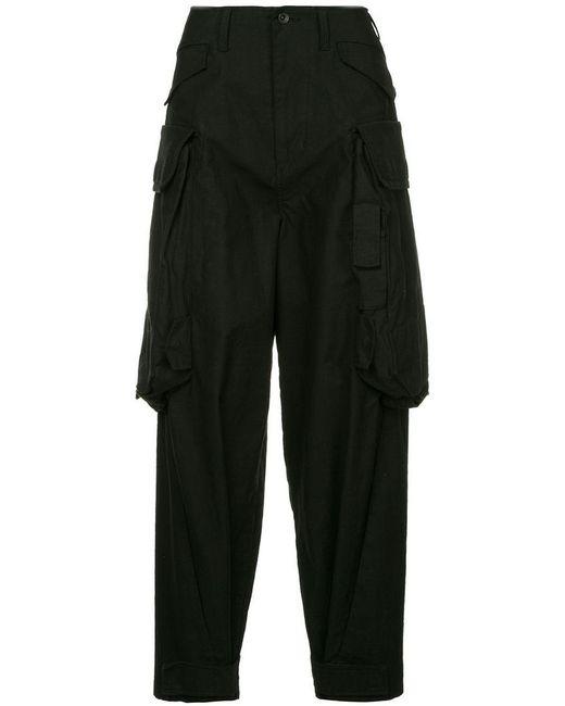 Julius - Black Cargo Trousers for Men - Lyst