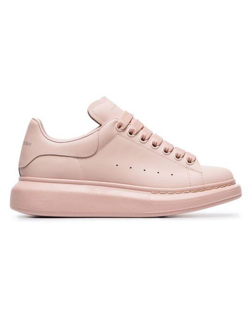 Alexander McQueen Pink Chunky Low-top Sneakers